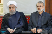 دیدار لاریجانی و روحانی با رهبر انقلاب درباره لایحه FATF