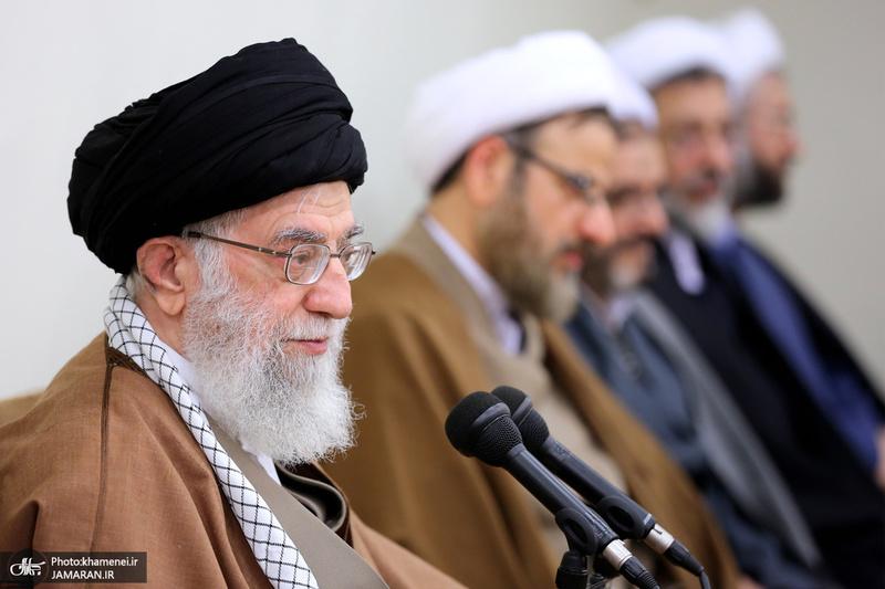 دیدار مسئولان دفتر تبلیغات اسلامی حوزه علمیه قم با رهبر معظم انقلاب اسلامی