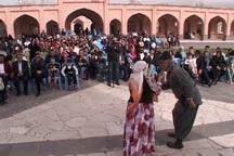 جشن نوروزگاه در مجموعه تاریخی شیخ حیدر مشگین شهر برگزار شد