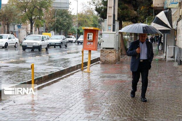 بارش برف و باران در اصفهان جایگزین آلودگی میشود