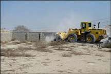 امسال220هکتار از اراضی ملی در ایرانشهر رفع تصرف شده است