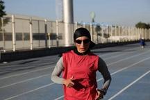بانوی دونده قزوینی رکوردشکنی کرد
