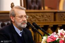 لاریجانی: تروریسم و مواد مخدر دو لبه یک قیچی هستند