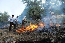 آتش سوزی در منطقه صوفی و درگناب ملکشاهی مهار شد