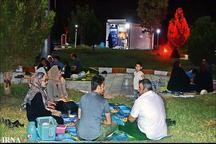 شب نشینی های رمضانی در بوستان ها