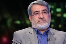 وزیر کشور وارد کرمانشاه شد
