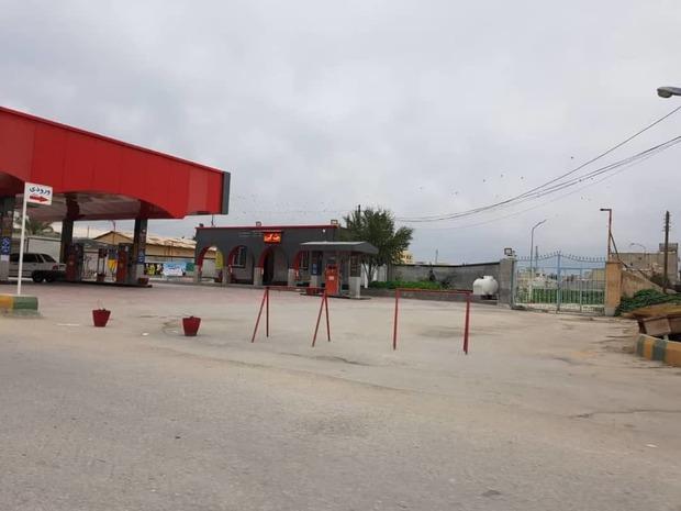2جایگاه عرضه بنزین در رامهرمز به دلیل فنی وحقوقی تعطیل شدند
