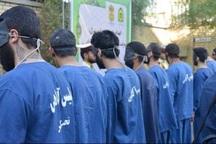 اعضای شبکه سارقان سابقه دار در شاهین دژ دستگیر شد