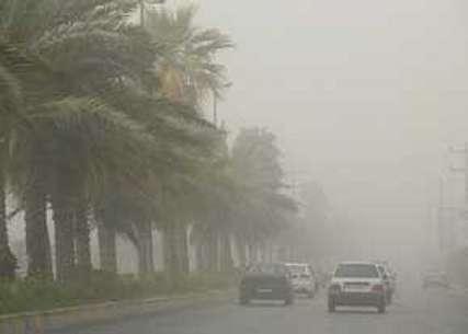 حداکثر سرعت وزش باد در منطقه سیستان به 60کیلومتر بر ساعت رسید