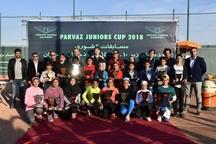 مسابقات تنیس قهرمانی کشور با معرفی نفرات برتر به کار خود پایان داد