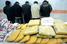 بزرگترین باند بین المللی مواد مخدر در جنوب کشور متلاشی شد