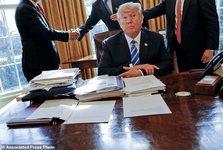 نقدی تلخ بر کارنامه سیاسی ترامپ در اولین سال قدرت گیری/ فردی «تاجرمسلک» با حلقه ای از نزدیکان فاسد
