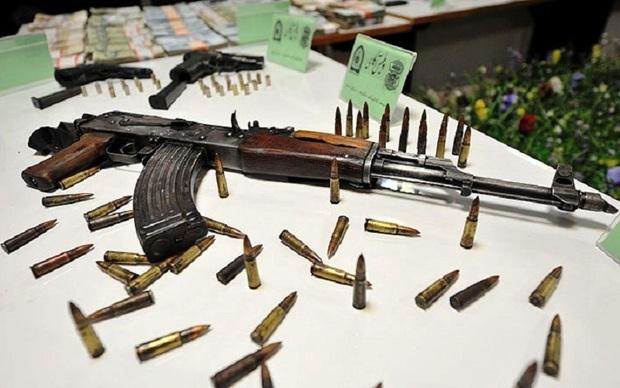 114 قبضه سلاح غیر مجاز در خوزستان کشف شد