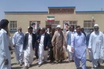 11 پروژه ویژه هفته دولت در خاش افتتاح شد