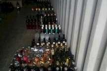 کشف بیش از یک هزار و 300 بطری مشروبات الکلی در هشترود