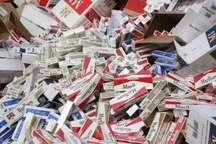 کشف سیگار و نوشیدنی قاچاق به ارزش 110 میلیون ریال در جهرم