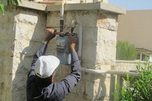 طرح گازرسانی به هفت روستای چگنی بهره برداری شد