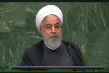 رئیس جمهور روحانی: برای گفتوگو، نیازی به گرفتن عکسهای دونفره نیست/ سازمان ملل یکی از ادارات ِدولت آمریکا نیست/ از تحریم دست بردارید و به تکفیر پایان دهید/ بنای جنگ با هیچ کشوری را نداشته و نداریم/ به میز مذاکرهای که خودتان برهم زدید، بازگردید
