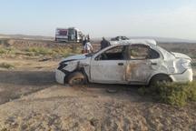 حوادث رانندگی شرق سمنان یک فوتی و11 مصدوم برجا گذاشت