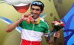 قهرمانی آروین معظمی گودرزی در تایم تریل لیگ دوچرخه سواری