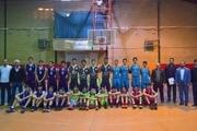 برگزاری مسابقه بسکتبال دانش آموزی در البرز