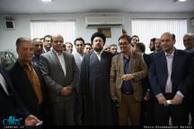 دیدار اعضای ستاد حامیان مردمی دکتر روحانی با سید حسن خمینی
