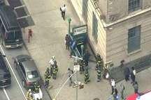 خروج مترو در منهتن نیویورک با 34 زخمی
