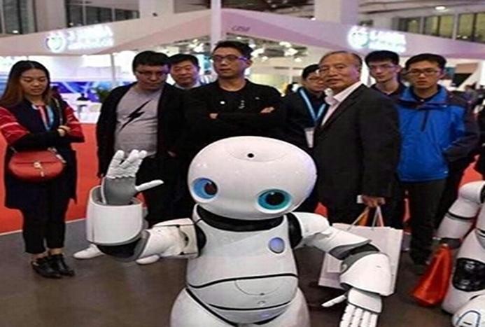 جدیدترین رباتهای دنیا در نمایشگاه چین+ فیلم