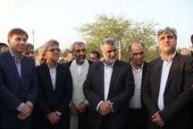 طرح 2400هکتاری اصلاح شیوه آبیاری نخیلات سعدآباد بوشهر آغاز شد
