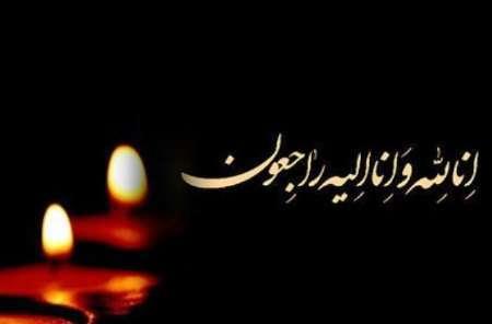 صدور پیام های تسلیت به مناسبت فوت همسر آیت الله علم الهدی