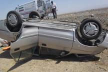 واژگونی خودرو در سبزوار دو مصدوم بر جای گذاشت