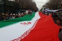 راهپیمایی 22 بهمن در 80 منطقه شهری و روستایی یزد آغاز شد