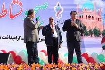 همایش بزرگ پیاده روی خانوادگی در زنجان برگزار شد