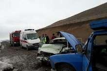 حوادث جاده ای در محورهای آذربایجان شرقی 16 مصدوم برجای گذاشت