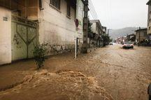 خسارت سیل و قطع برق وتلفن بیش از 50 روستای شرق مازندران
