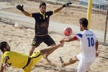 تیم فوتبال ساحلی خراسان شمالی، فدک ارومیه را شکست داد
