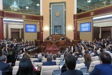دولت قزاقستان استعفا داد