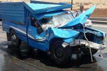 برخورد 2 دستگاه خودرو در قزوین یک کشته برجای گذاشت