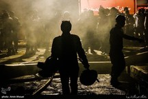 آتش سوزی کارخانه پنبه پاک کنی ارس وش پارس آباد مغان