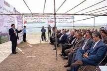 عملیات اجرایی شبکه آبیاری و زهکشی سد آی دوغموش میانه آغاز شد