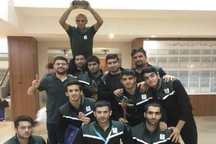 تیم کشتی دانشجویان علوم پزشکی مشهد نایب قهرمان کشور شد