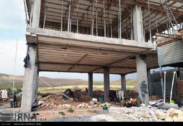 بازسازی شهرهای زلزله زده سال 98 پایان می یابد