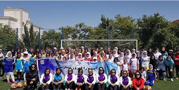 برگزاری سومین فستیوال فوتبال دختران آذربایجان شرقی در تبریز