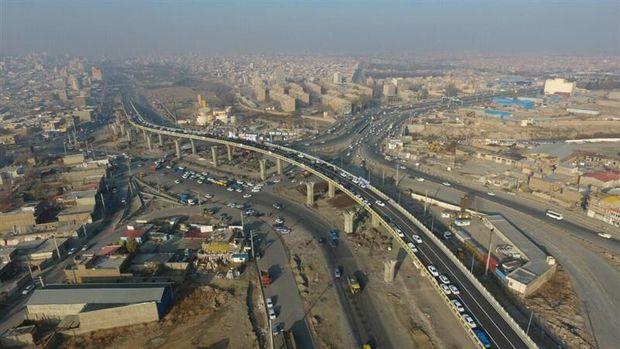 روگذر ورودی ارومیه از سمت مهاباد تا پایان سال دوطرفه میشود