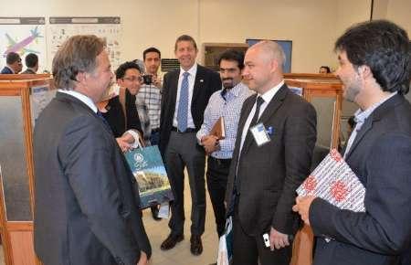 نمایندگان اتحادیه هوافضای آلمان با دستاوردهای دانشگاه صنعتی اصفهان آشنا شدند