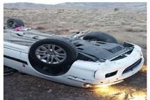 واژگونی خودرو در نایین سه مصدوم داشت