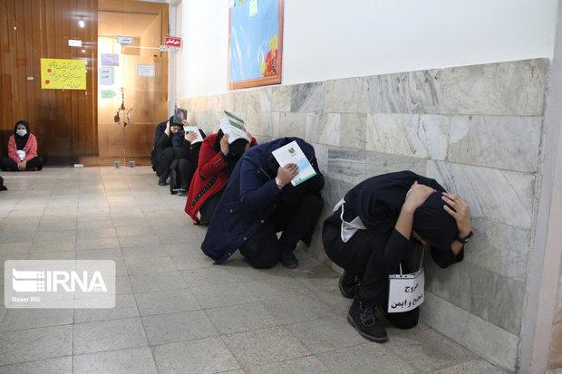 مانور زلزله در مدارس دیر اجرا شد