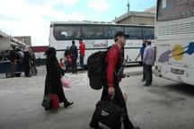 آخرین گروه شورشیان سوری در حال ترک «حمص»