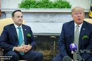 نخستین سفر ترامپ به ایرلند همزمان با اعتراضات مردمی