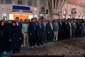 تجدید میثاق مدیران و کارکنان سازمان تامین اجتماعی با آرمان های حضرت امام(س)